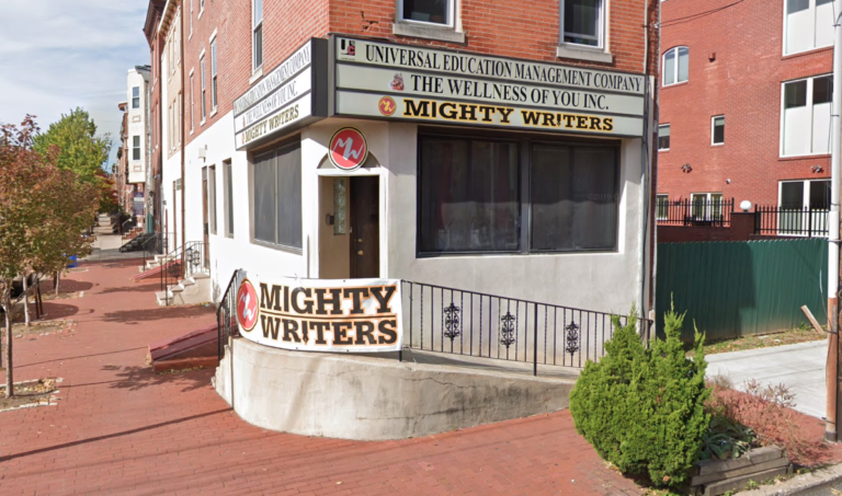 Mighty Writers (Google Maps)