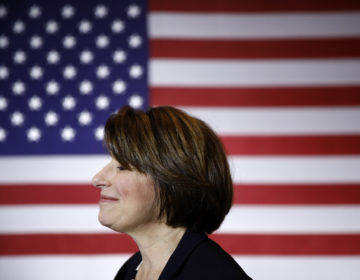 Sen. Amy Klobuchar, D-Minn., at a campaign event in Cedar Rapids, Iowa. She has ended her presidential bid. (Patrick Semansky/AP)