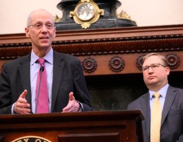 City Health Commissioner Thomas Farley provides an update on COVID-19. on March 6, 2020 (Bastiaan Slabbers for WHYY)