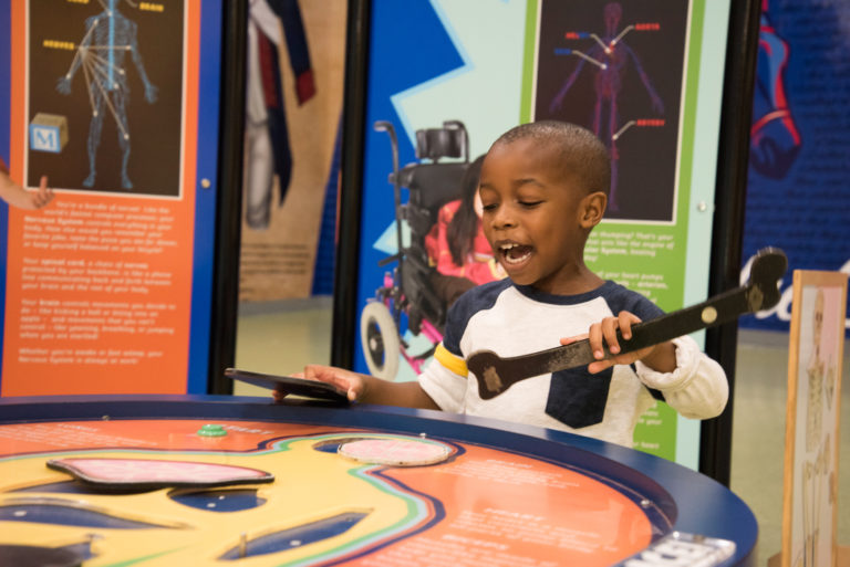 The Delaware Children's Museum is providing activities for children and their families via social media. (Courtesy of Elisa Morris)