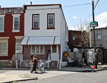 Philadelphia rowhomes (WHYY file photo)