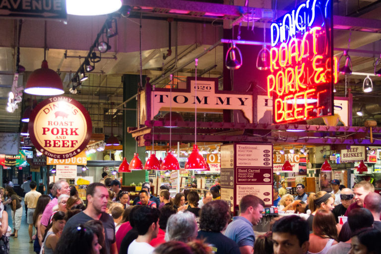 Inside Reading Terminal Market (Danya Henninger/Billy Penn)
