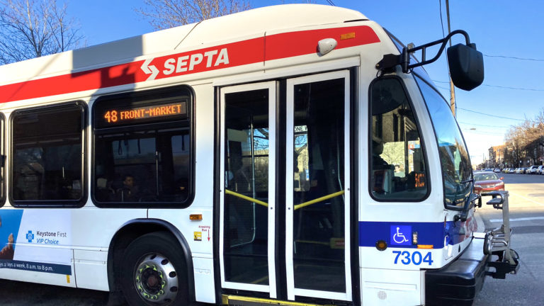 SEPTA Rt. 48 bus