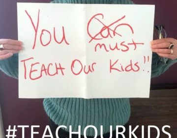 PCCY has started the social media campaign, #Teachourkids. (Courtesy of PCCY)