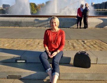 Vicki Simon at Point State Park in Pittsburgh. (Courtesy of Vicki Simon)