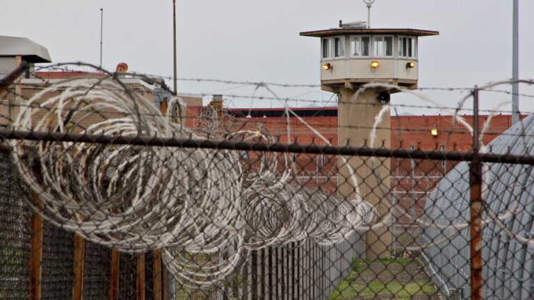 The county correctional complex on State Road in Philadelphia. (Emma Lee/WHYY)