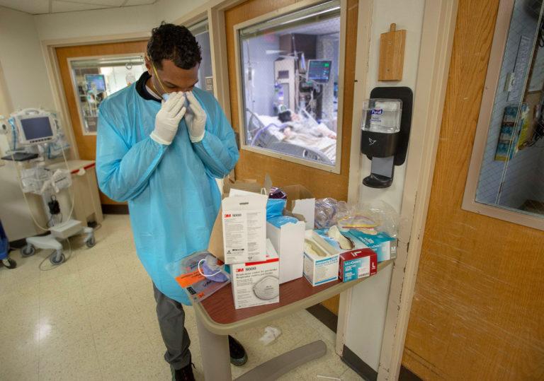 New Jersey coronavirus response