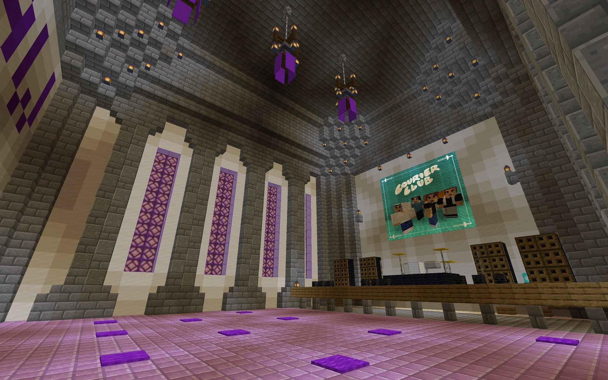 Stage Is Set In Minecraft For International Music Festival Whyy
