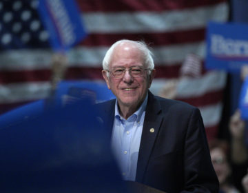 Sen. Bernie Sanders, I-Vt, speaks at a rally in Council Bluffs, Iowa, Thursday, March 7, 2019. (AP Photo/Nati Harnik)