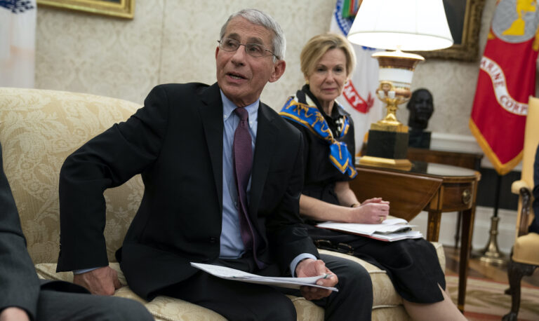 Dr. Anthony Fauci and Dr. Deborah Birx