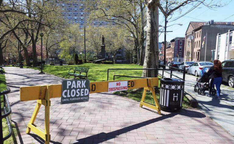 Stevens Park in Hoboken, N.J.
