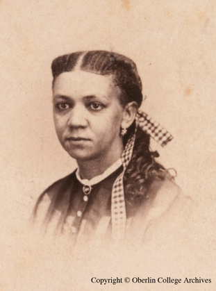 Fanny Jackson, the educator and activist, headed Philadelphia's nationally reknowned Institute for Colored Youth, where Octavius Catto taught. Jackson cancelled classes on April 26, 1870 so students and teachers could join in the Fifteenth Amendment celebration. (Oberlin College Archives)