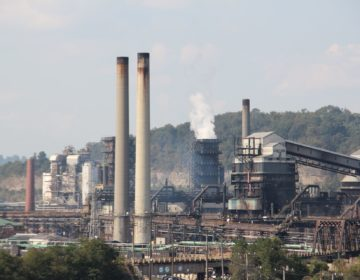 US Steel's Clairton Coke Works, near Pittsburgh. (Reid R. Frazier/StateImpact Pennsylvania)