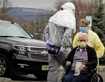 Patients from St. Joseph's Senior Home in Woodbridge were evacuated March 25 after multiple residents contracted COVID-19 and some died. (NJTV News)
