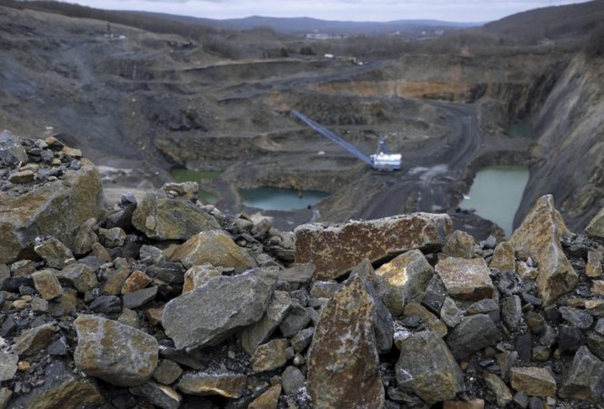 A view of Blaschak coal mine in Mahanoy City