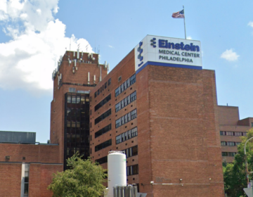 Einstein Medical Center Philadelphia on North Broad St. (Google maps)