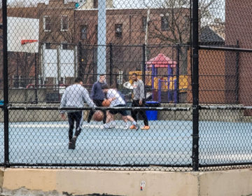 People playing group basketball games during March, when the coronavirus lockdown was in effectMARK HENNINGER / IMAGIC DIGITAL