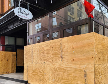 Boarded up storefronts are proliferating around Philadelphia. (Mark Henninger/Imagic Digital)
