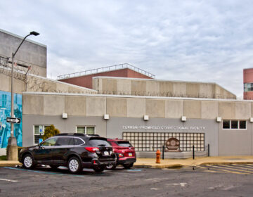 The exterior of Curran-Fromhold Correctional Facility