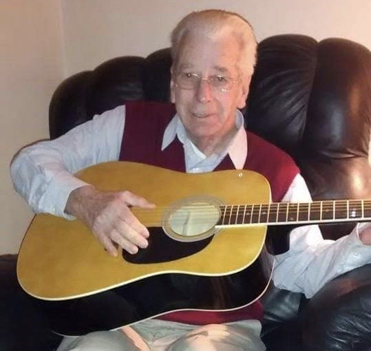 Charlie Secrest, pictured about six years ago, died at a Delaware nursing home on April 6 after contracting coronavirus. (Courtesy of Terri Hansen)