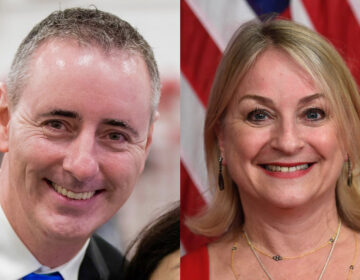 Republican U.S. Rep Brian Fitzpatrick (left), representing Pennsylvania's  1st District and Democratic U.S. Rep. Susan Wild (right), representing Pennsylvania's 7th District. (AP file photos)