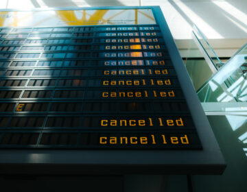 When airlines cancel flights and offer no other options to get to your destination within a reasonable amount of time, they are legally obligated to offer a refund. (Kay Fochtmann/Getty Images/EyeEm)
