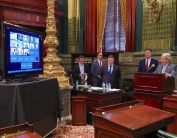 Lawmakers convene in person and over Zoom