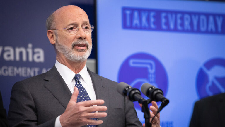 Pennsylvania Gov Tom Wolf