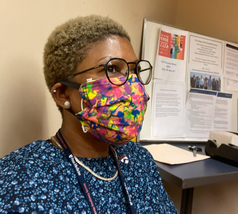 Since the COVID-19 pandemic began, Penn Medicine Chaplain Camille Turner has to call her patients to provide comfort, rather than meeting them at their bedsides. (Provided by Camille Turner)