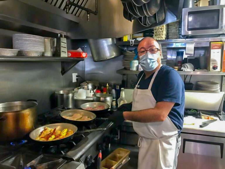 Silvio Garbati is the owner of Café Verdi, a 65-seat Italian eatery in Wilmington, Delaware. (Courtesy of Silvio Garbati)