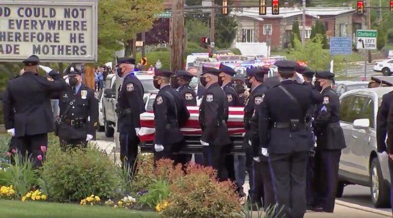 Funeral of Sgt. James O'Connor