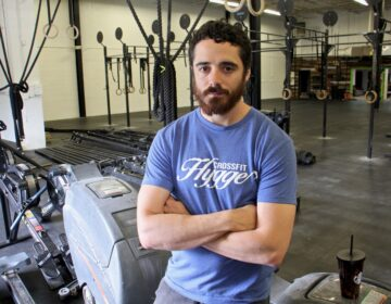 Thomas Alfinito is the owner of a Crossfit Hygge gym franchise in Mount Laurel, N.J. (Emma Lee/WHYY)