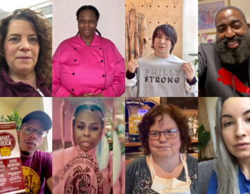 Philadelphia small business owners make video pleas for forgivable loans from the Pennsylvania 30 Day Fund. (Images provided by applicants)