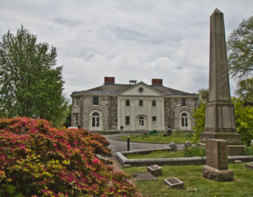 The Woodland Cemetery Mansion in Philadelphia