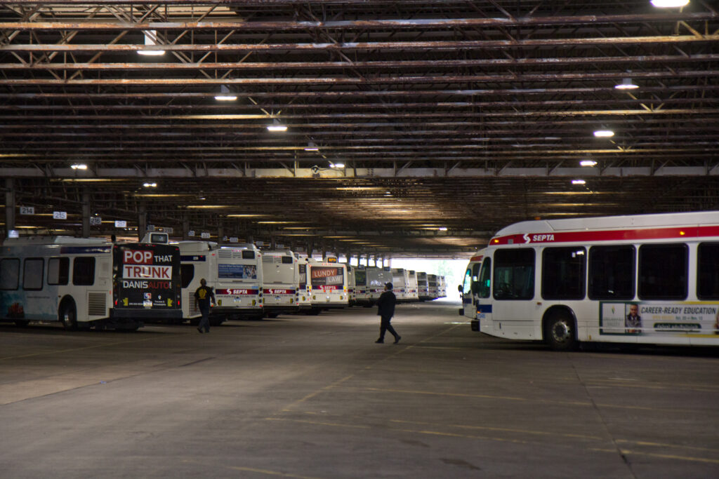 SEPTA's Midvale bus depot was a hotspot for COVID-19.