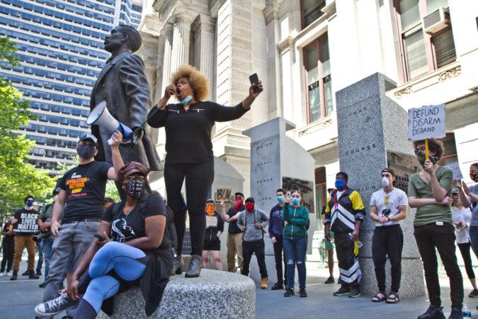 Organizer Melissa Robbins remembers Octavius Catto