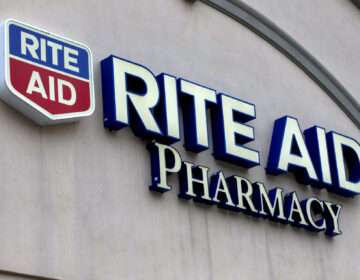 A Rite Aid Pharmacy sign