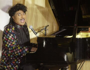 Little Richard performs at the 93rd birthday and 88th year in show business gala celebration for Milton Berle