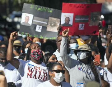 Ahmaud Arbery shooting protest