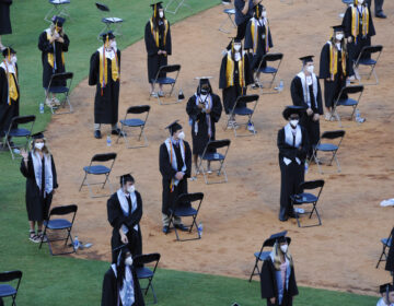 Socially distant graduation amid coronavirus pandemic