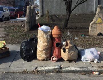 Garbage in North Philadelphia