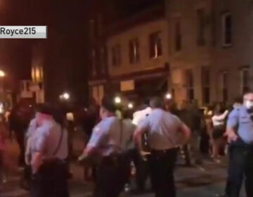 Police break up large party blocking Philly streets despite stay-at-home order