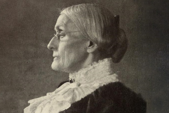 Portrait of Susan B. Anthony taken in 1900, when she was 80 years old (Frances Benjamin Johnston/Public domain)