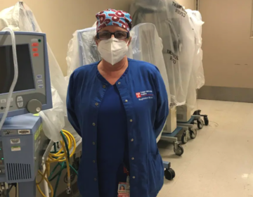 Maureen May, a registered nurse in the infant intensive care unit at Temple University Hospital. (Courtesy Maureen May)