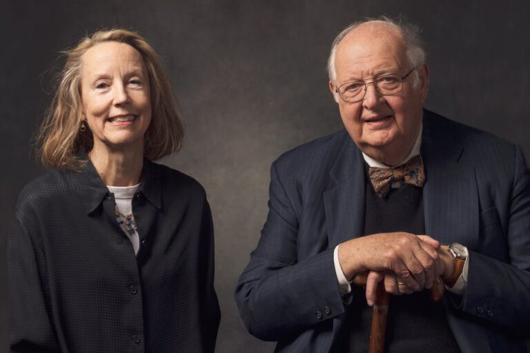 Anne Case and Angus Deaton, Princeton economists and husband-and-wife co-authors of the new book,