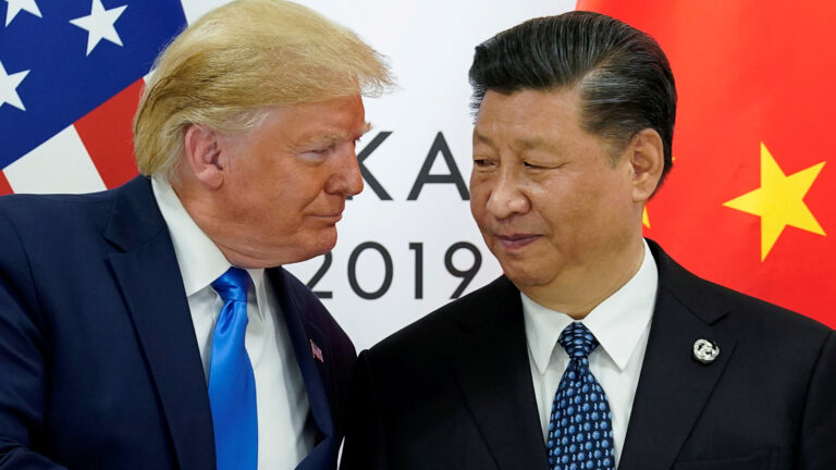 President Trump and China's President Xi Jinping