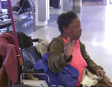 People experiencing homelessness take refuge in Philadelphia's desolate airport