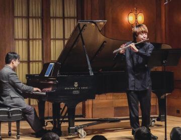 Flutist Jihoo Yu and