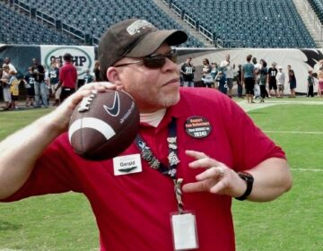 Gerald Baker was a big Eagles fan and worked part-time at Lincoln Financial Field. (Courtesy of Tinisha Baker)