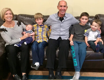 Denise and Richard Victor of Bloomfield Hills, Mich., have been missing their grandkids, whom they haven't seen since February. Before the pandemic, they had regular visits with grandsons (from left) Daren Cosola, Stirling Victor, Davis Victor and Lucas Cosola. (Courtesy of the Victor family)